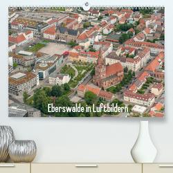 Eberswalde in Luftbildern (Premium, hochwertiger DIN A2 Wandkalender 2021, Kunstdruck in Hochglanz) von Roletschek,  Ralf