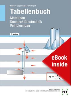 eBook inside: Buch und eBook Tabellenbuch von Moos,  Josef, Wagenleiter,  Hans Werner, Wollinger,  Peter