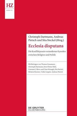 Ecclesia disputans von Dartmann,  Christoph, Pietsch,  Andreas Nikolaus, Steckel,  Sita