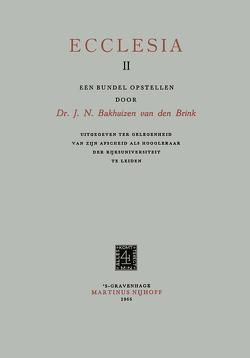 Ecclesia II von Bakhuizen Van den Brink,  J.N.