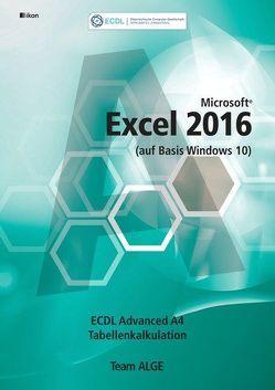 ECDL Advanced Excel 2016 A4 (auf Basis Windows 10)
