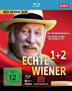 Echte Wiener: Die Sackbauer Saga / Die Deppat'n und die Gspritzt'n von Burkard,  Ingrid, Merkatz,  Karl, Rott,  Klaus