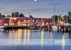 Eckernförder Impressionen (Wandkalender 2019 DIN A2 quer) von Kolfenbach,  Klaus
