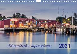 Eckernförder Impressionen (Wandkalender 2021 DIN A4 quer) von Kolfenbach,  Klaus