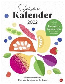 Ecofriendly Saisonkalender 2022 von Heye