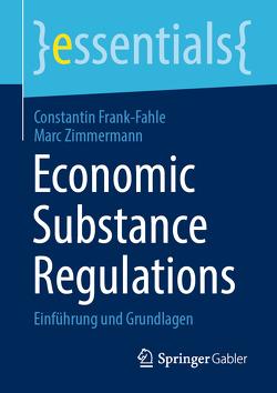 Economic Substance Regulations von Frank-Fahle,  Constantin, Zimmermann,  Marc