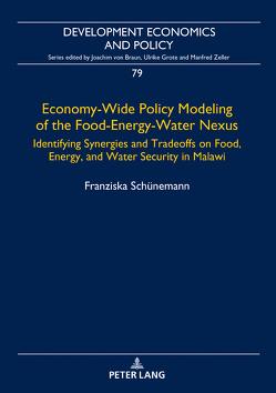 Economy-Wide Policy Modeling of the Food-Energy-Water Nexus von Schünemann,  Franziska