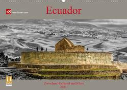 Ecuador 2021 Zwischen Hochland und Küste (Wandkalender 2021 DIN A2 quer) von Bergwitz,  Uwe