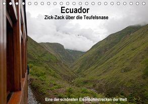 Ecuador Zick-Zack über die Teufelsnadel (Tischkalender 2018 DIN A5 quer) von Neetze,  Akrema-Photography