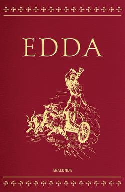 Edda – Die Götter- und Heldenlieder der Germanen (Cabra-Lederausgabe) von Simrock,  Karl, Sveinsson,  Brynjolfur
