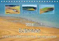 Edersee – Landschaftsformen bei Niedrigwasser (Tischkalender 2018 DIN A5 quer) von Bienert,  Christine