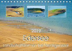 Edersee – Landschaftsformen bei Niedrigwasser (Tischkalender 2019 DIN A5 quer) von Bienert,  Christine