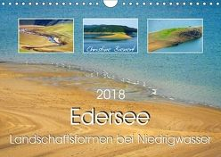 Edersee – Landschaftsformen bei Niedrigwasser (Wandkalender 2018 DIN A4 quer) von Bienert,  Christine