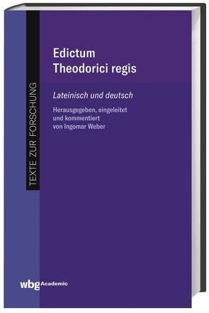 Edictum Theodorici regis von König,  Ingemar