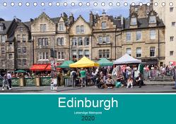 Edinburgh – Lebendige Metropole (Tischkalender 2020 DIN A5 quer) von Becker,  Thomas