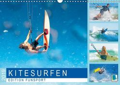 Edition Funsport: Kitesurfen (Wandkalender 2019 DIN A3 quer) von CALVENDO