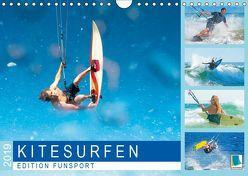 Edition Funsport: Kitesurfen (Wandkalender 2019 DIN A4 quer) von CALVENDO