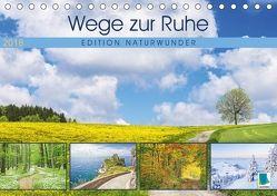 Edition Naturwunder: Grandiose Natur (Tischkalender 2018 DIN A5 quer) von CALVENDO,  k.A.
