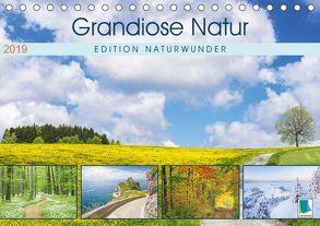 Edition Naturwunder: Grandiose Natur (Tischkalender 2019 DIN A5 quer) von CALVENDO