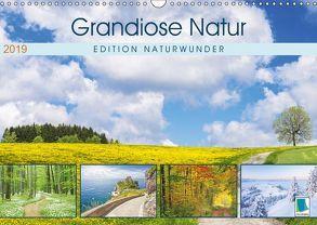 Edition Naturwunder: Grandiose Natur (Wandkalender 2019 DIN A3 quer) von CALVENDO