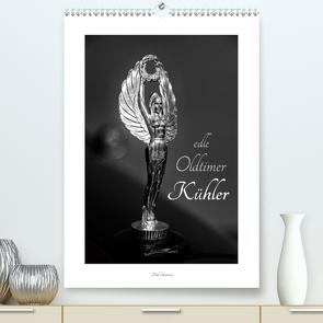 Edle Oldtimer Kühler (Premium, hochwertiger DIN A2 Wandkalender 2021, Kunstdruck in Hochglanz) von Ehrentraut,  Dirk