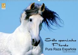 Edle spanische Pferde – Pura Raza Espanola (Wandkalender 2020 DIN A2 quer) von Dünisch - www.Ramona-Duenisch.de,  Ramona