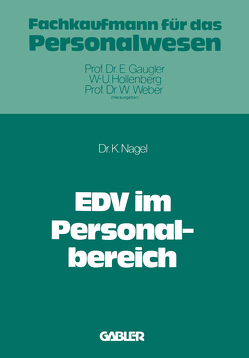 EDV im Personalbereich von Nagel,  Kurt