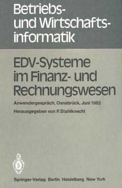 EDV-Systeme im Finanz- und Rechnungswesen von Stahlknecht,  P.
