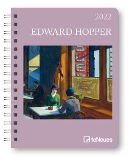 Edward Hopper 2022 – Diary – Buchkalender – Taschenkalender – Kunstkalender – 16,5×21,6 von Hopper,  Edward