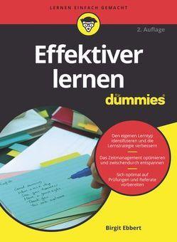 Effektiver Lernen für Dummies von Ebbert,  Birgit