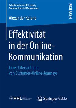 Effektivität in der Online-Kommunikation von Kolano,  Alexander