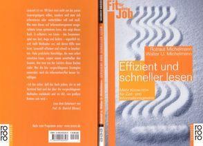 Effizient und schneller lesen von Hake-Michelmann,  Rotraut, Michelmann,  Walter U