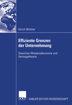 Effiziente Grenzen der Unternehmung von Winkler,  Ulrich
