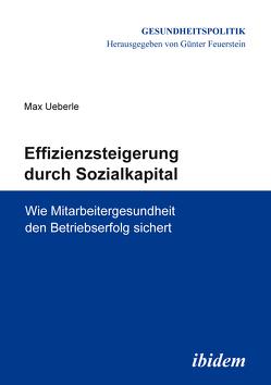Effizienzsteigerung durch Sozialkapital von Feuerstein,  Günter, Ueberle,  Max