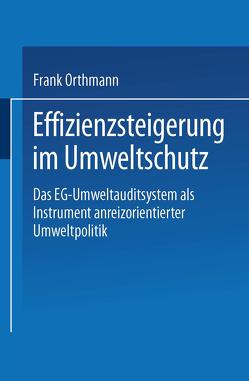 Effizienzsteigerung im Umweltschutz von Orthmann,  Frank