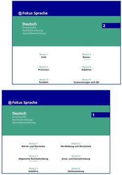 eFokus Sprache 1 und 2 von Merki,  Otto
