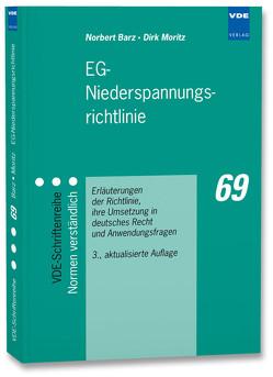 EG-Niederspannungsrichtlinie von Barz,  Norbert, Moritz,  Dirk