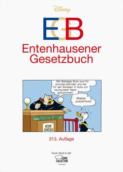 EGB – Entenhausener Gesetzbuch von Disney,  Walt, Kraxner,  Manuela, Penndorf,  Gudrun, Syllwasschy,  Gerd