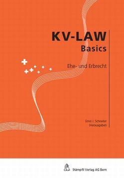 Ehe- und Erbrecht von Schneiter,  Ernst J.