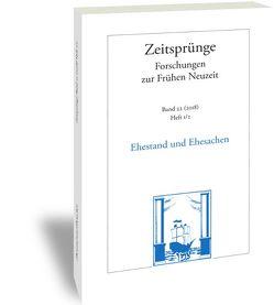 Ehestand und Ehesachen von Harst,  Joachim, Meierhofer,  Christian