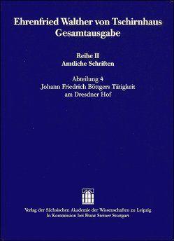 Ehrenfried Walther von Tschirnhaus Gesamtausgabe von Knobloch,  Eberhard, Krautz,  Carsten, Ullmann,  Mathias