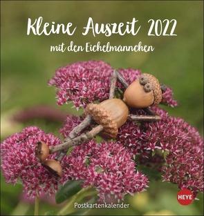 Eichelmännchen Postkartenkalender 2022 von Heye