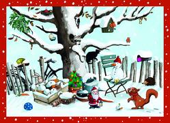 Eichhörnchens Winterwelt Adventskalender von Wilson,  Henrike