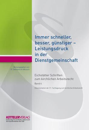 Eichstätter Schriften zum kirchlichen Arbeitsrecht 2018 von Oxenknecht-Witzsch,  Renate