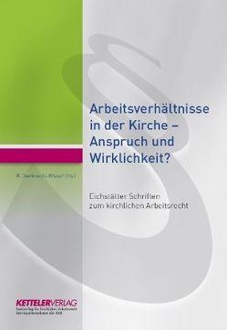 Eichstätter Schriften zum kirchlichen Arbeitsrecht von Oxenknecht-Witzsch,  Renate