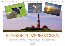 Eiderstedt Impressionen (Tischkalender 2018 DIN A5 quer) von DESIGN Photo + PhotoArt,  AD, Dölling,  Angela