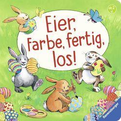 Eier, Farbe, fertig, los! von Harvey,  Franziska, Penners,  Bernd