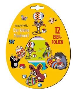 """Eierfolien """"Der kleine Maulwurf"""" von Miler,  Zdeněk"""