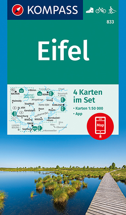 Eifel von KOMPASS-Karten GmbH