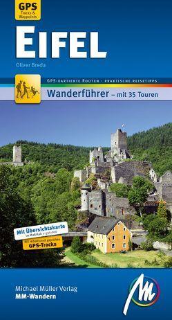 Eifel MM-Wandern Wanderführer Michael Müller Verlag von Breda,  Oliver